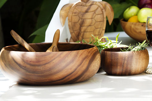 island for kitchen acacia wood bowl 5 quot x 14 quot 31449